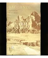 1954 BADLANDS National Monument Handbook - $5.00