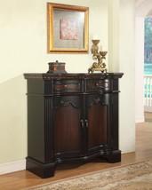 Powell 'Black' & 'Cherry' Fluted Pilaster 2-Door Cabinet - $729.00