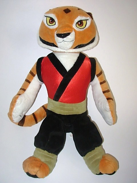 Kohl's Cares Kung Fu Panda Plush Master Tigress Doll 14""