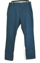 Perry Ellis Slim Fit Stretch Men 30 30 Casual Work Chino Dress Pants Dar... - $19.99