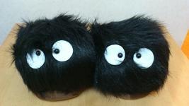 "Totoro Ghibli Cosplay Adult Plush Rave Shoes Slippers 11"" Ghibli - Yello... - $8.99"