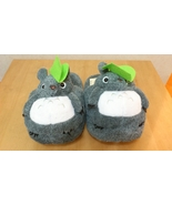 "Totoro Ghibli Cosplay Adult Plush Rave Shoes Slippers 11"" - Yellow Bird - $8.99"