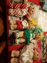 Trolls Lot of 4 2 Yellow Haired & 2 Pink Haired Lot of 4 Unknown Brand of 1 - $58.99