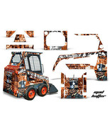 Kit Grafica Decalcomania Wrap per Bobcat Skidsteer Mini Carico Minipala ... - $395.95