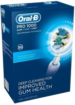 Oral-B Pro 1000 Gum Care Rechargeable Power Source Compact Electric Toothbrush - $49.49