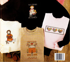 Counted Cross Stitch  Be Loved Sweats In Waste Canvas  Leisure Arts #567 Nos - $4.00