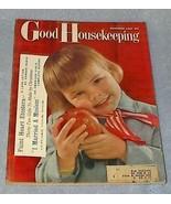 Good Housekeeping Women's Magazine November 1958 Vivienne Cover - $7.95