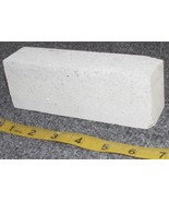 White Carving Stone, for Peace Pipe or Fetishes AC2 - $38.73