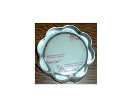 Glass Paperweight  Round Scallop - $15.00