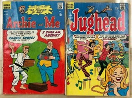 JUGHEAD & ARCHIE lot of (2) issues, as shown (1968) Archie Comics G/VG - $9.89