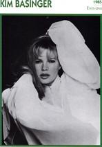 KIM BASSINGER 1985 Cinema Card, French - $2.95