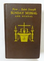 Sunday Missal New Saint Joseph and hymnal 1969 hardcover religion Christ... - $17.82