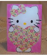 Hello Kitty Greeting and Gift Card Holder Envelope Pink Cat - $2.25