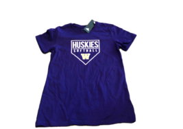 NWT New Washington Huskies adidas Softball Women's XL T-Shirt - $19.75