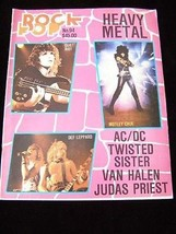 Rock Pop #46 January 1982 Robert Plant The Police Deep Purple Gene Simmo... - $16.99