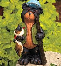Hunting Bear Garden Statue - $19.95