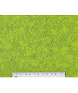 Bright Green Neon Fabric, cotton quilting quilt... - $7.48