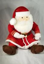 "Hallmark The Polar Express Talking Santa Claus Plush Jingle Bell 18"" - $19.99"
