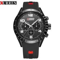 Watch Mens Quartz Analog Round Stainless Steel Case Sports Military Wristwatch - $25.91
