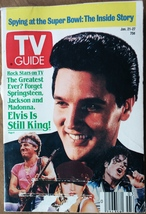 Elvis - TV Guide  (Jan. 21-27, 1989) - $9.99