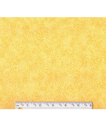 Bright Yellow Neon Fabric, cotton quilting quil... - $7.48