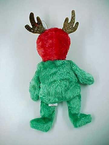 2002 TY Holiday Teddy the Reindeer Beanie Baby