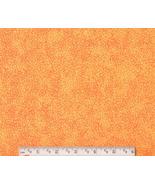 Bright Orange Neon Fabric, cotton quilting quil... - $7.48