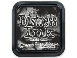 Ranger Tim Holtz Distress Ink Pad Full Size, Black Soot