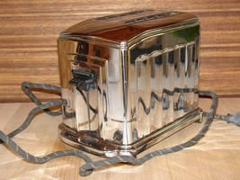 Toaster Waters-Genter Model 1B5 1930's Art Deco  Toastmaster - $475.00