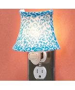 Blue Leopard Print Night Light - $12.75
