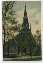 Swedish Lutheran Church Red Wing Minnesota 1910 postcard - $6.93