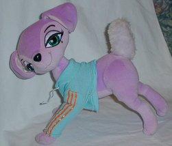 50% off! Bratz Petz Purple Turqoise Fancy Dog Plush  - $6.00