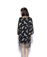Blackcruft Cult Death Moth Women's Oversized Occult Gothic Kimono - XS-S - $52.96