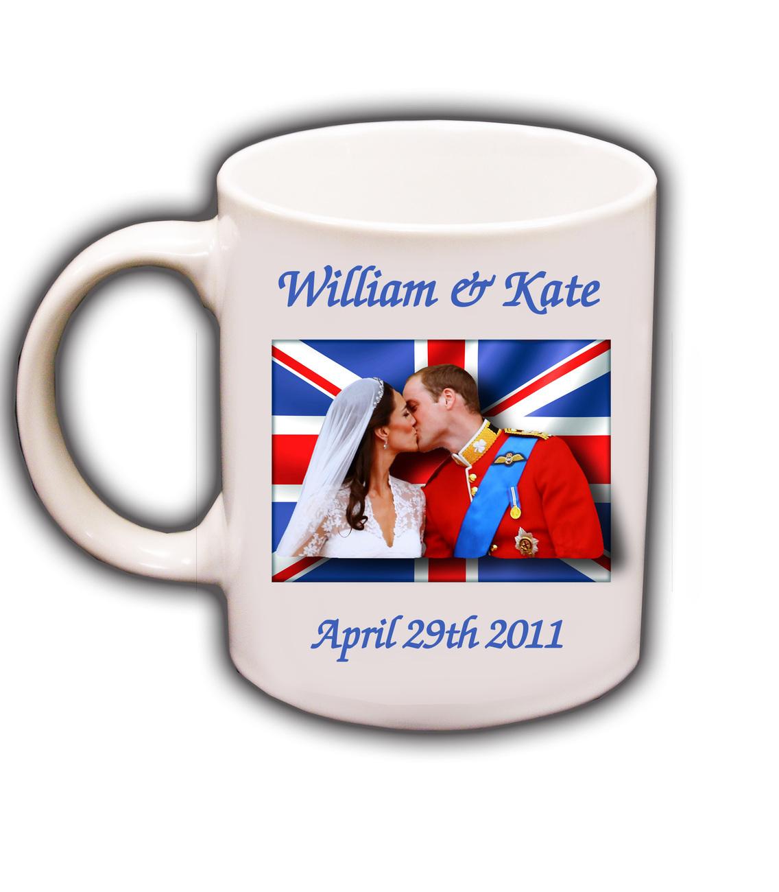 Wedding Gift Ideas Over USD500 : ... William & Kate Middleton Royal Wedding Coffee Mug #2Glassware