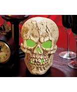 LED Lighted Color-Changing Skull Centerpiece - $19.95