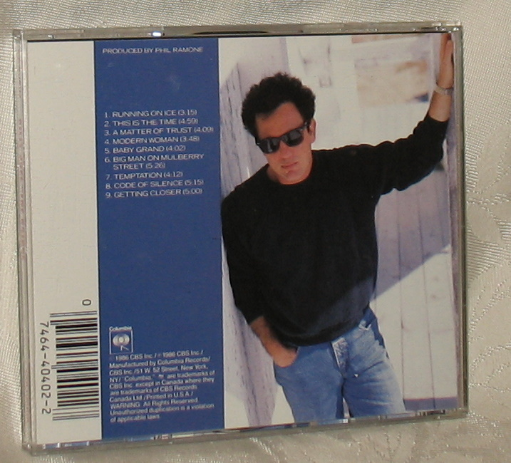 Billy Joel The Bridge CD