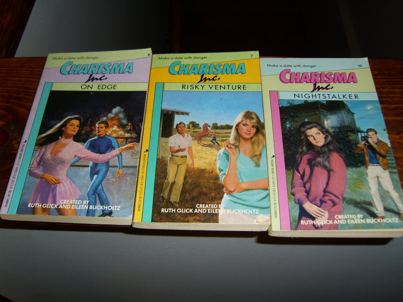 Charisma Inc paperback book lot of 3