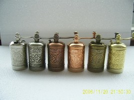 Traditional Turkish Handmade Brass Antique Salt Pepper Spice Grinder 3.5... - £5.10 GBP+