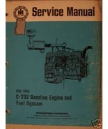 International 4000, 275, 375 Windrowers Gas Engine Service Manual - $15.00