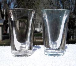 2 HAZEL ATLAS SHOT GLASSES 1.5 OZ CONE SHAPED - $18.95