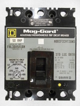 FAL3605016M 600VAC 50A 3Pole F-Frame Molded Case Magnetic In-Line Motor ... - $268.16