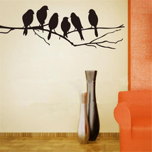 Removable Birds Branch Tree Wall Stickers Home Art Decals DIY Living Room Decor - $6.67
