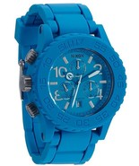NWT Nixon A309917 Unisex Sky Blue Rubber 42-20 Chronograph Watch - $267.25