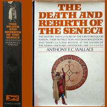 1970 Death & Rebirth of Seneca Indians 1st HC/DJ ILLUSTRATED - $6.00