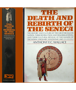 1970 Death & Rebirth of Seneca Indians 1st HC/DJ ILLUSTRATED - $6.00