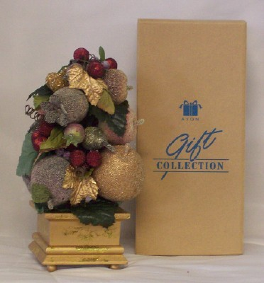 Avon Holiday Splendor Topiary NIB