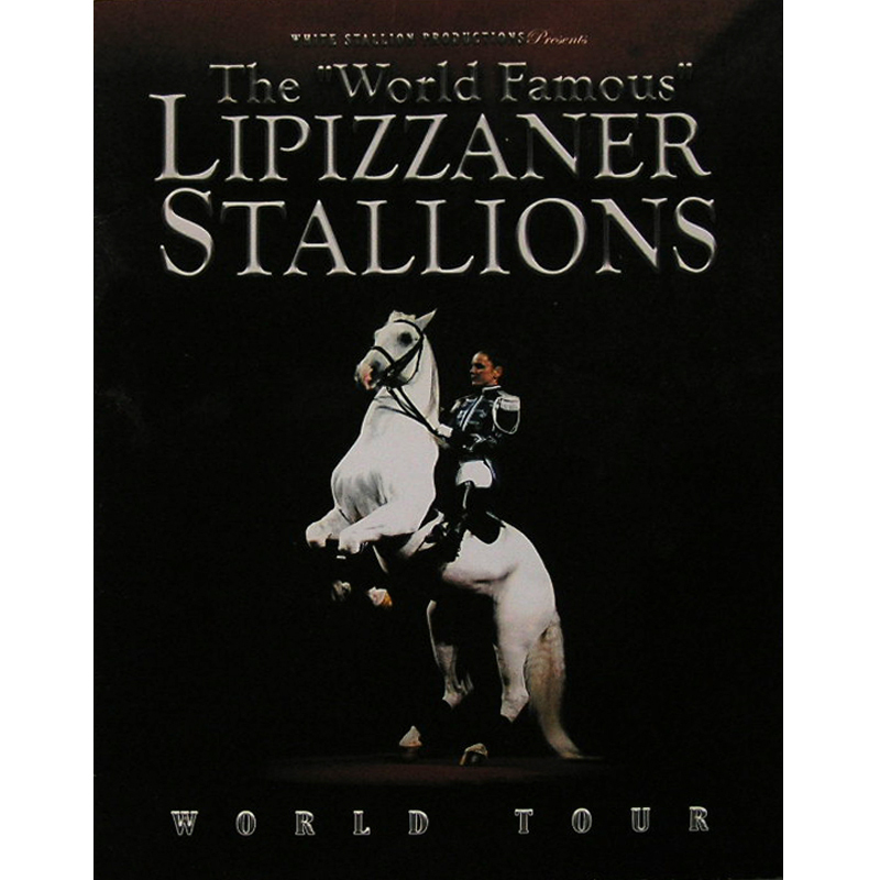 Primary image for Lipizzaner Stallions 2006 World Tour Souvenir Booklet