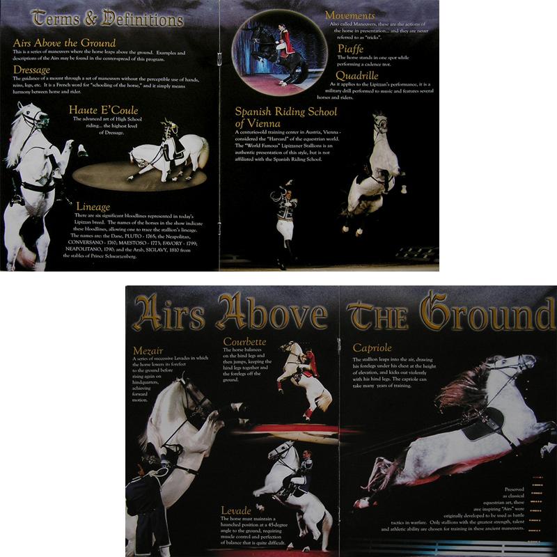 Lipizzaner Stallions 2006 World Tour Souvenir Booklet