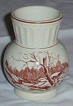 Pretty Ionic Co Ceramic Vase Bridge Scene - $6.00