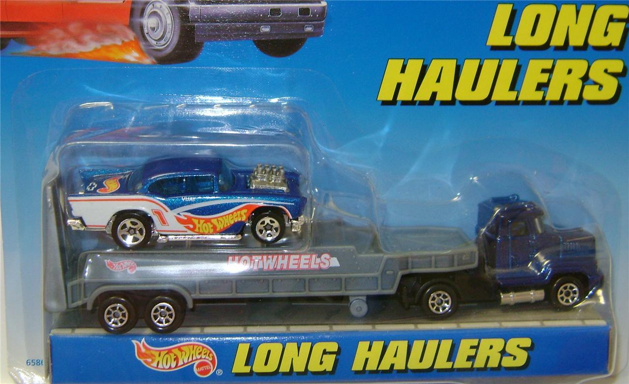 Long Haulers Hot Wheels Set